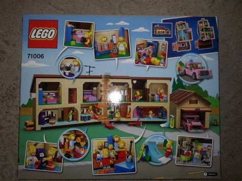 Kaos The Simpsons The Simpsons 01 i will be building that the simpsons house lego set