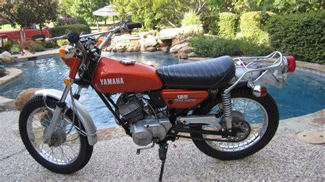 Motorr Der 125 Ccm Enduro by Yamaha At 125 1969 Bis 1972