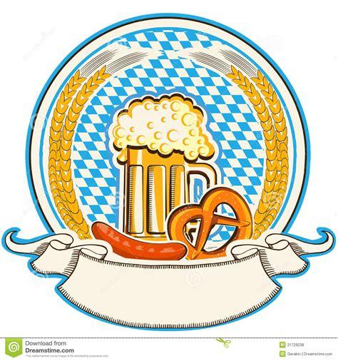 Aufkleber Lösen Von Glas by Oktoberfest Aufkleber Mit Bier Und Lebensmittel