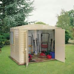Sheds Vinyl by Damis 6 X 8 Shed With Doors