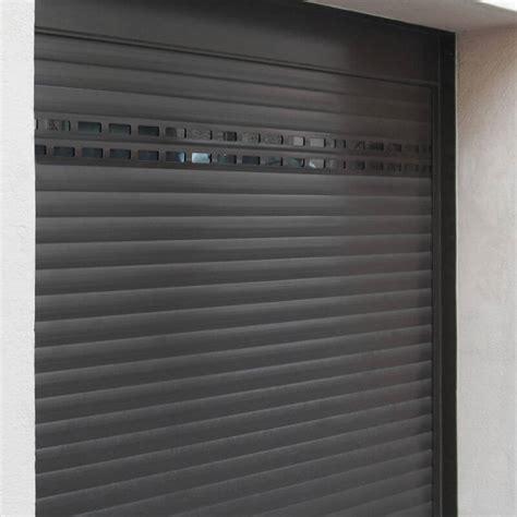porte de garage en alu porte de garage enroulable en aluminium sur mesure et