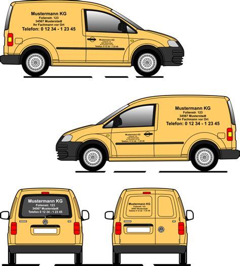 Fahrzeugbeschriftung Bestellen autobeschriftung schilder autobeschriftung set 3