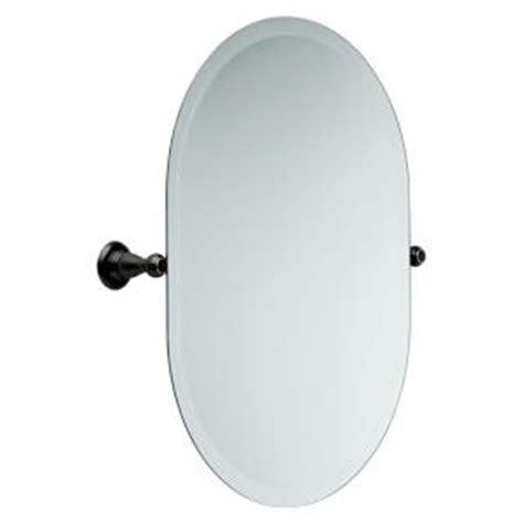 delta bathroom mirrors delta porter 23 12 in l x 26 in w wall mirror in oil