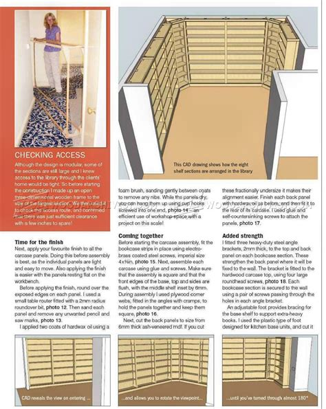 Library Bookcase Plans Library Bookcase Plans Best Home Design 2018