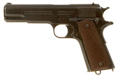 deactivated wwi colt 1911 pistol allied deactivated guns