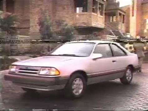 1986 ford tempo 1986 ford tempo sport gl commercial