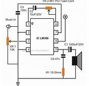 How To Build Small Simple Audio Amplifiers Using IC LM386