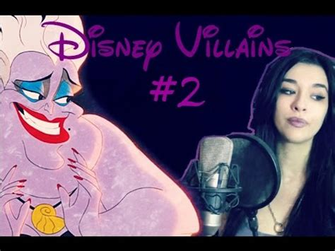 disney villains 2 poor unfortunate souls ursula the little mermaid ost cover by luna