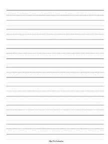 Primary Writing Paper Primary Writing Paper All Lined Lt Blue Pictures To Pin On Pinterest