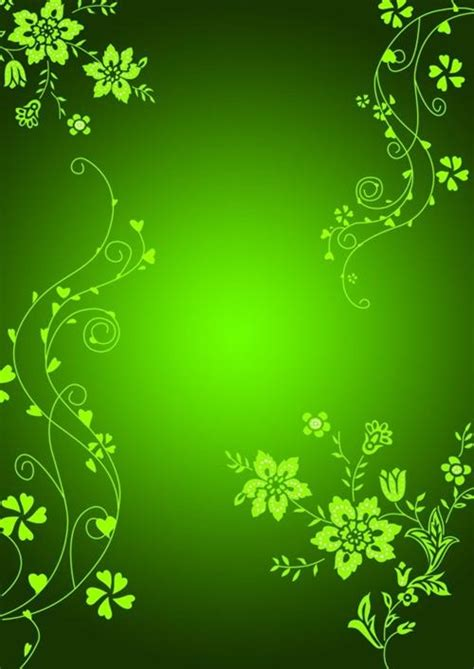 template background photoshop simple plant pattern background psd material my free