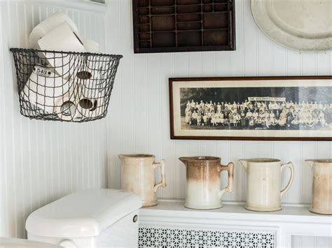 Easily boost bathroom storage with wall mounted baskets hgtv