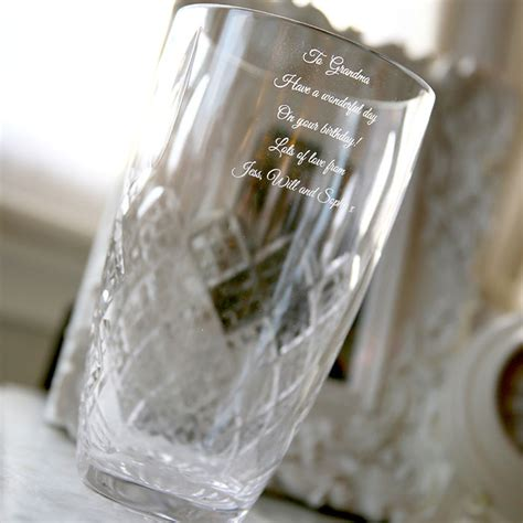 Vase Engraved Gift by Large Engraved Vase Engraved Gifts From