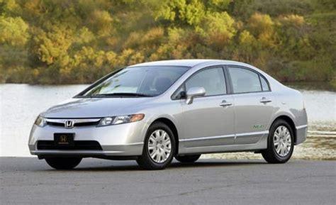 Honda Civic 2007 At car and driver
