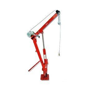 truck type cherry picker with winch 1000 lb