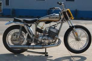 Retro Suzuki Vintage Suzuki Flat Track Racer Flickr Photo