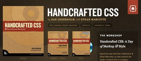 Handcrafted Software - free handcrafted css more bulletproof web design