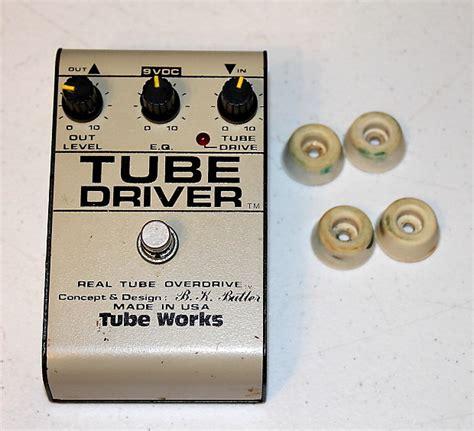 bk butler tube works tube driver overdrive  yugoslavia reverb