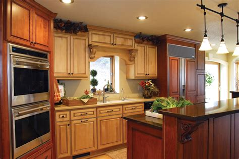 remodel kitchen two tone traditional new lenox kitchen remodel halo
