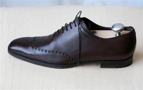 ysl mens sneakers yves laurent mens brown oxford wingtip shoes 8 41 ebay