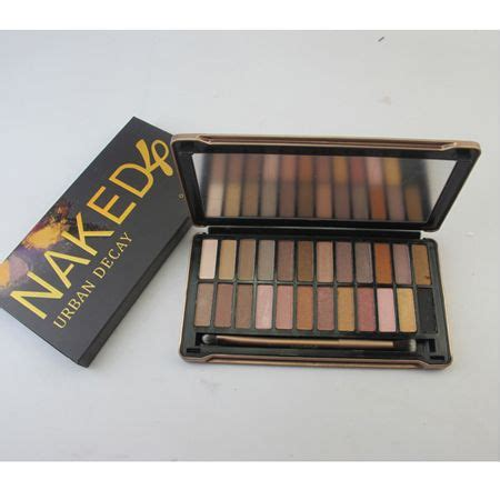 Naked4 4 Eyeshadow Decay 3 decay 4 eyeshadow palette 24 color