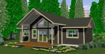 To thank you for building our cottage the entire process from design