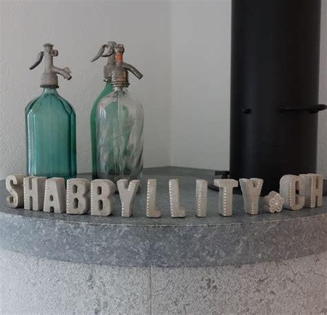 buchstaben aus beton shabbyllity beton buchstaben