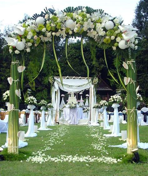 Garden Wedding Decorations Ideas Outdoor Wedding Decoration Ideas Living Room Interior Designs
