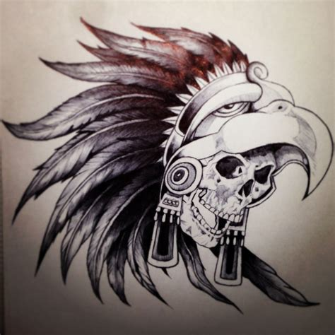 warrior skull my art pinterest 해골