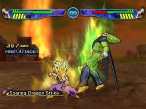 All dragon ball z budokai 3 screenshots for playstation 2