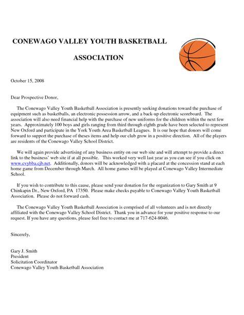 Sponsor Letter Basketball solicitation letter for basketball sponsorship