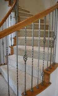 banister spindles replacement replace wooden baluster with iron balusters