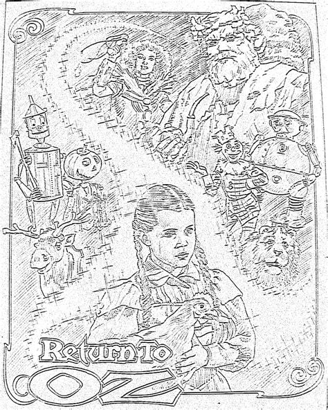 coloring pages of the yellow brick road yellow brick road free coloring pages