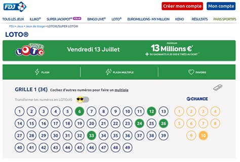 Grille Million by Grille Gagnant Euromillion