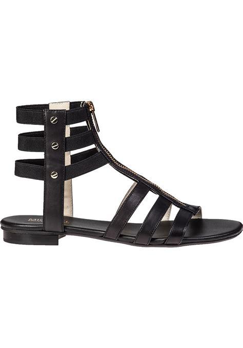 gladiator sandals black lyst michael michael kors codie gladiator sandal black