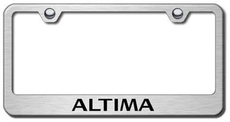 nissan altima license plate frame sapiensman car parts auto parts truck parts supplies