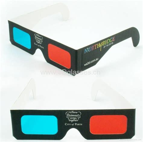How To Make Paper 3d Glasses - paper 3d glasses 007 olu china manufacturer