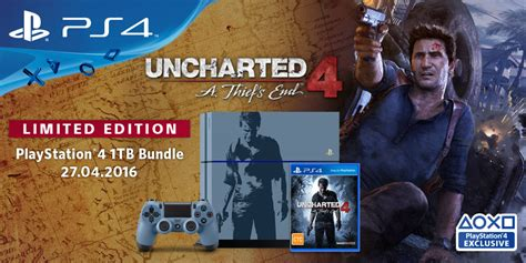 Ps4 Uncharted 4 Limited Tanpa the uncharted 4 console bundle has been unveiled loadscreen
