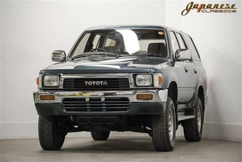 toyota turbo diesel japanese classics 1990 toyota hilux 4x4 turbo diesel