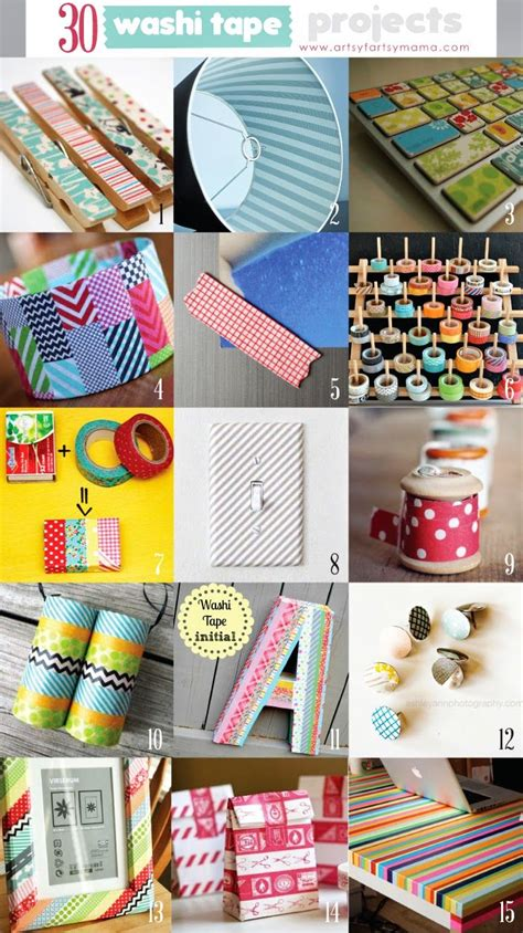 washi tape craft ideas 30 washi tape projects
