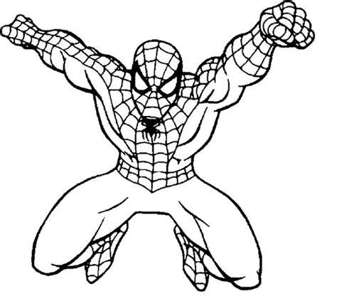 spiderman coloring pages easy spiderman coloring page coloring book