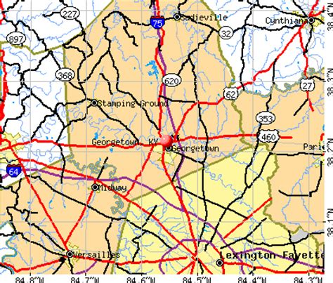 ky lighting georgetown ky georgetown kentucky map map