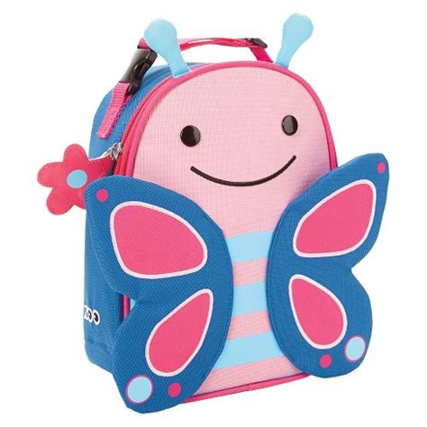 Skiphop Zoo Luggage Butterfly skip hop zoo toddler insulated lunch bag