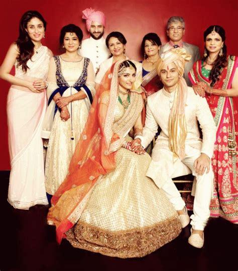 soha ali khan wedding pic most stylish brides of 2015 indian fashion mantra
