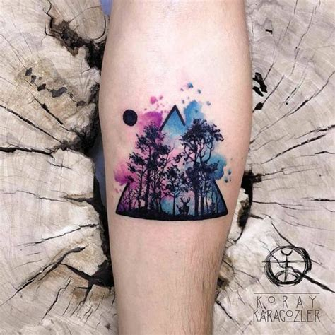 watercolor tattoo for man 51 popular watercolor tattoos for fashionable and