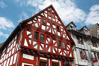 traditional german house stock image image