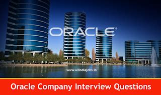 Oracle Mba by Oracle Company Questions Technical And Hr For