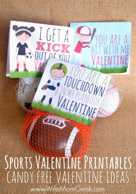 sports valentines cards sports valentines printables free ideas