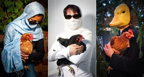 nine members of toronto s backyard chicken underground on