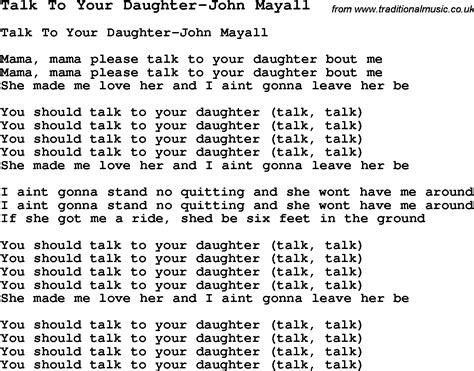 bedroom talk lyrics words to your daughter myideasbedroom com