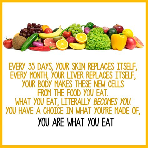 Which Do You Eat by You Are What You Eat Healthy Eaton Healthy Eaton